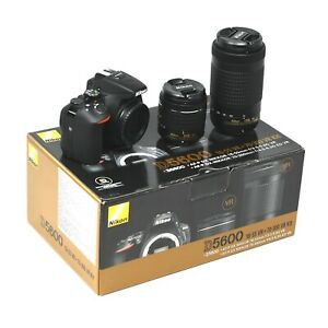 Nikon D5600 + 18-55mm + 70-300mm - UK NEXT DAY DELIVERY