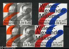 Nederland 2206 Koninklijk Huwelijk 2002 alle combinaties