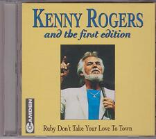 KENNY ROGERS & FIRST EDITION  - RUBY DON'T TAKE YOUR LOVE TO TOWN - CD - NEW -