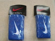 NIKE Set of two(2) of  Swoosh Tennis  Wristbands, Double-Wide size