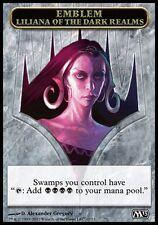 Emblème Liliana Royaumes obscurs (Emblem Dark Realms)  Magic #260 M13 2013 VF