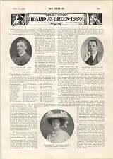 1905 Italian Tenor Signor Tamagno Miss Edith Ostlere