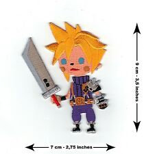 Cloud Strife Final Fantasy - BRAND NEW - Cute Embroidered Patch XV VII 15 7