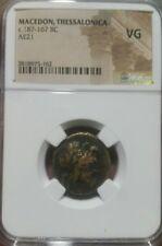 Macedonia  Thessalonika  c.187-167 BC AE21 NGC VG
