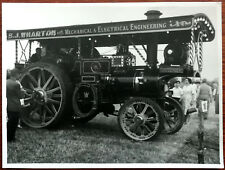 Photograph of S. J. Wharton, King George VI Steam / Traction Engine 1956