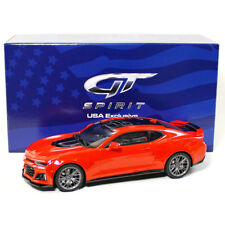 GT Spirit US012 2017 Chevrolet Camaro ZL1 Red 1:18 Scale Acme Exclusive Edition