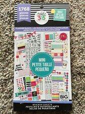 Create 365™ The Happy Planner Value Pack Stickers, PLANNER BASICS 1768 NEW
