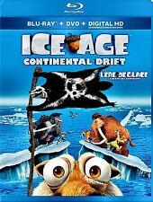 NEW BLU-RAY/DVD COMBO // ICE AGE - CONTINENTAL DRIFT - Ray Romano, John Leguizam