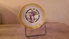 "5 "" diameter  Grant Crest COUNTRY CHARM Butter Yellow Farm Scene Berry Bowl  LNC"
