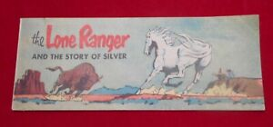 1954 Lone Ranger -- Story Of Silver Comic Book -- Cheerios Cereal Premium