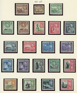 Malta 1937-1984 Most attractive mint and used collection, mostly MNH