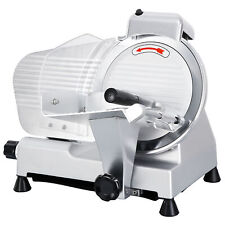 Electric Meat Slicer Commercial 10 Blade 240w 530 Rpm Deli Food Cutter