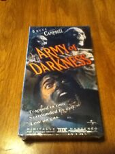 New Rare Army Of Darkness VHS 1993 Out Of Print Bruce Campbell Freeshipping