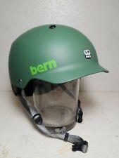 Bern Watts Helmet Matte Leaf Green S-M (54-57)