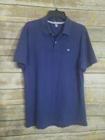 Peter Millar Medium Golf Polo Shirt Blue M Casual Beach Mens
