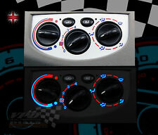 Vauxhall Vivara van heater control dash custom bulb lighting upgrade dial kit