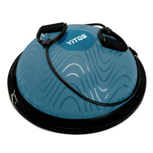 Vitos Fitness Yoga Buso Ball Dome Balance Trainer Exercise Workout With Pump