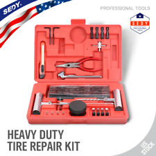 56Pc Heavy Duty Tire Repair Kit Flat Tire Puncture Repair Car Truck RV Motorcycl