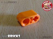 6057526 ORANGE 6 x NEW LEGO LIFTARM 1 x 2 THICK WITH PIN HOLE /& AXLE No