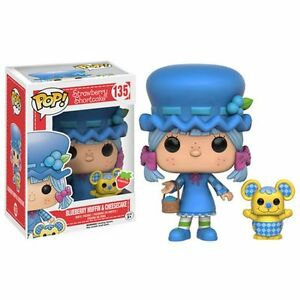 "STRAWBERRY SHORTCAKE - SCENTED BLUEBERRY MUFFIN & CHEESECAKE 3.75"" POP FIGURE"
