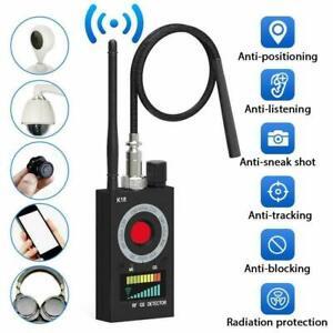 K18 RF Wanzendetektor Signalfinder Bug Detector GPS Spy Finder Versteckte Kamera