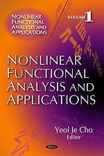 Nonlinear Functional Analysis & Applications: v. 1 (Nonlinear Functional Analysi
