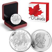 2013 O Canada 1/2 oz Silver $10 -  Holiday Season