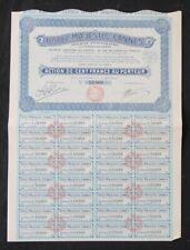 Action HOTEL MAJESTIC CANNES PARIS 1926 titre bond share 2