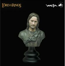 Lord of the Rings Sideshow Weta Aragorn LOTR polystone bust figure