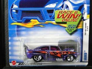 JADED, Hot Wheels 2002 First Editions 22/42, #034, , Metallic Purple, 5SP wheels