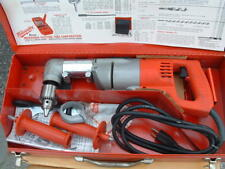 "Brand New Hd Milwaukee 1/2"" Right Angle Drill With Steel Case Included"