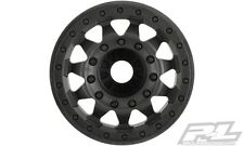 "Pro-Line Racing F-11 2.8"" (Traxxas Style Bead) Black Wheels 17mm hex PRO275503"