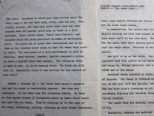 Beach Boys Original Typed Press release 1964 Boston concert 4 pages surf