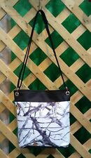 True Timber Snow White Camo-Camouflage Crossbody Bag Tote-Made In USA