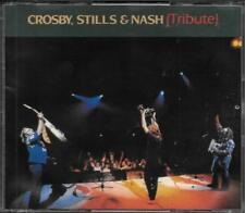 "CROSBY,STILLS AND NASH   -  2 CD MADE IN ITALY 1992 "" TRIBUTE """