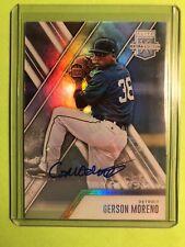 2017 Elite Extra Gerson Moreno #189 Autograph Detroit Tigers Mint Free CombS&H