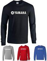 Yamaha t-shirt yz 85 125 250 450 600 R1 R6 motocycle Long SleeveT shirt tee