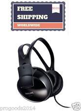 ORIGINAL PHILIPS SHP1900/97 Stereo Headphones Lightweight Over ear Black New