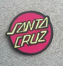 Patch écusson Santa Cruz skate transfert thermocollant brodé
