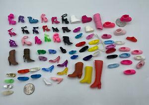 Barbie DOLL MY SCENE OTHERS SINGLE SHOES LOT SINGLE SHOE Sneakers Boots Heels