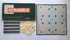 1955 Spears Games Scrabble Board Game Vintage Retro Game *1 Letter Missing*