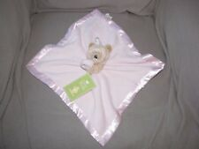 DISNEY WINNIE THE POOH BABY GIRL PINK CLASSIC SATIN SECURITY BLANKET LOVEY NWT