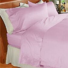 Egyptian Cotton Sheet Set Queen Size Lavender Solid 800 Thread Count 4 Piece Set