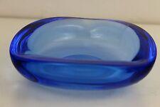 Scandinavian Art Glass by Flygsfors Cased Bowl 15cm Diameter Weighs: 830g