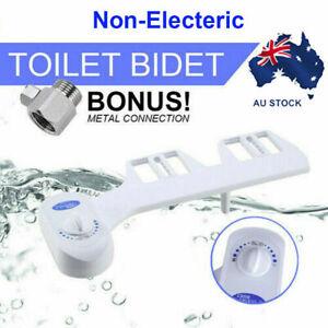 2pack Bidet Upgrade Vision Hygiene Water Wash Easy Toilet Seat Attachment Unisex