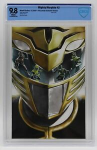 Mighty Morphin (2020) #2 Diego Galindo Virgin Cover CBCS 9.8 Blue Lbl White Pgs