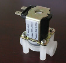 "DC 24V Solenoid Valve Magnetic N/C Water Air Inlet Flow Switch N/C 1/4"" ATAU"