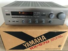 Yamaha RX 570 Natural Sound Stereo-Receiver with Box, Remomte and Manual.