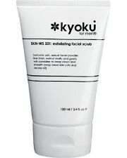 Kyoku for Men Exfoliating Facial Scrub, 3.4 Fluid Ounce