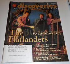 Discoveries Music Magazine #173 -10/02- Flatlanders, Otis Williams, David Lasley